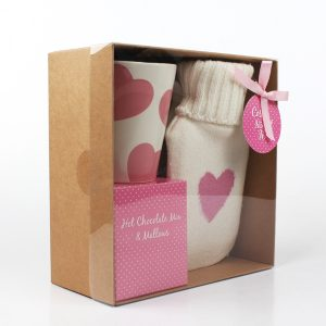 Hot water bottle gift set